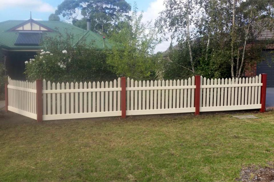 Residential Fencing Gallery Composite Pvc Fences Think