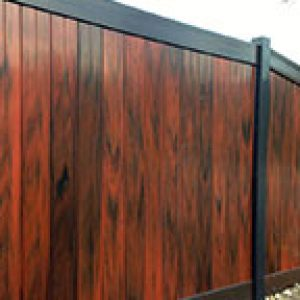 PVC Panel Fencing