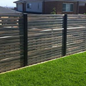PVC Screen Fencing