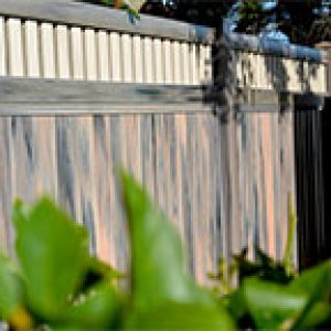 residential PVC fencing