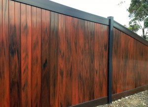 Mystique PVC panel fencing