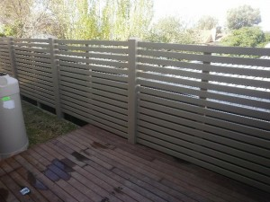Bellbrae PVC fencing