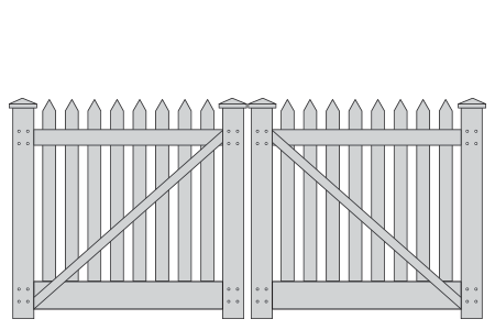 picket-double-gate