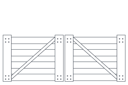 post-and-rail-double-gate-4rail