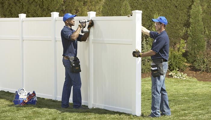 PVC Fence Installers