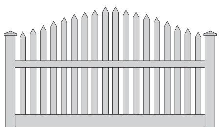 Toucan-Style-Picket-fence